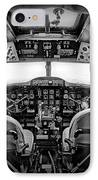 cockpit of a DC3 Dakota IPhone Case