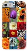 Collage Of Happiness  IPhone Case by Mark Ashkenazi