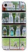 Collector - Bottles - Milk Bottles  IPhone Case by Mike Savad