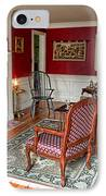 Colonial Parlor IPhone Case by Olivier Le Queinec