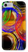 Color Frenzy 1 IPhone Case by Andee Design