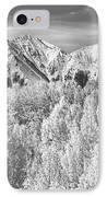 Colorado Rocky Mountain Autumn Beauty Bw IPhone Case