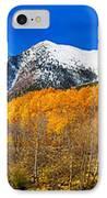 Colorado Rocky Mountain Independence Pass Autumn Panorama IPhone Case