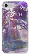 Colored Forest IPhone Case by Alixandra Mullins