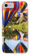 Colorful Balloons Fill The Frame IPhone Case
