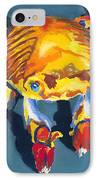 Colorful Crab IPhone Case by Stephen Anderson