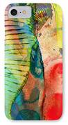 Colorful Elephant Art By Sharon Cummings IPhone Case by Sharon Cummings