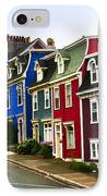Colorful Houses In Newfoundland IPhone Case