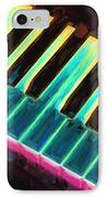 Colorful Keys IPhone Case