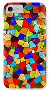 Colorful Visions IPhone Case by Manu Singh