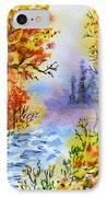 Colors Of Russia Autumn  IPhone Case by Irina Sztukowski