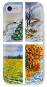 Colors Of Russia Four Seasons IPhone Case