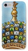Colors Of Russia St Petersburg Cathedral IIi IPhone Case by Irina Sztukowski
