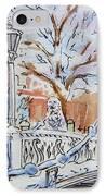 Colors Of Russia Winter In Saint Petersburg IPhone Case by Irina Sztukowski