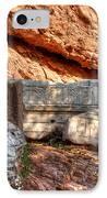 Column Parts At The Acropolis IPhone Case