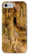Columns In The Caves IPhone Case by Jonah  Anderson