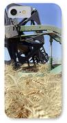 Combine Harvester  IPhone Case by Shay Fogelman