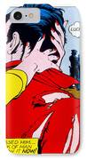 Comic Strip Kiss IPhone Case
