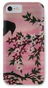Coming Home To Roost IPhone Case by Cathy Jacobs