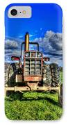 Coming Out Of A Heavy Action Tractor IPhone Case