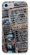 Commercial Fishing Pots IPhone Case by Heidi Smith