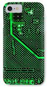 Computer Circuit Board IPhone Case