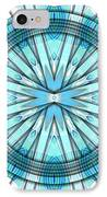 Concentric Eccentric 3 IPhone Case by Brian Johnson