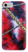 Continuum Iv Red Sky IPhone Case by Micah  Guenther