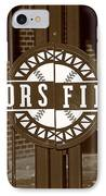 Coors Field - Colorado Rockies 15 IPhone Case by Frank Romeo