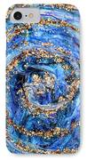 Coriolis 4 IPhone Case by Regina Valluzzi
