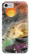 Cosmos IPhone Case by Wolfgang Finger