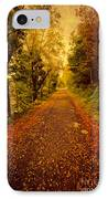 Country Lane V2 IPhone Case by Adrian Evans