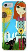 Courage 2 IPhone Case by Laura Bell