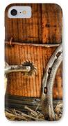 Cowboy Boots And Spurs IPhone Case by Paul Ward