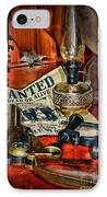 Cowboy - The Sheriff IPhone Case by Paul Ward