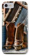 Cowboys Have Laundry Too IPhone Case