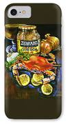 Crab Fixin's IPhone Case by Dianne Parks