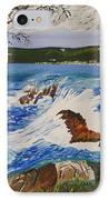 Crashing Wave IPhone Case by Eric Johansen