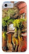 Crazy Whimsy Wacky New Orleans IPhone Case by Christine Till