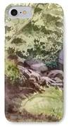 Creekside Smith Gilbert Gardens IPhone Case by Elizabeth Carr