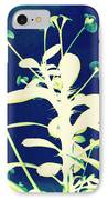 Crown Of Thorns - Blue IPhone Case by Shawna Rowe