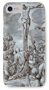 Crucifixion IPhone Case by Johann or Hans von Aachen