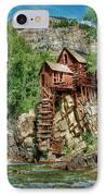 Crystal Mill Crystal Colorado IPhone Case by Ken Smith