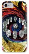 Crystal Skulls IPhone Case by Jason Saunders