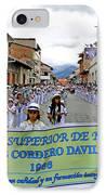 Cuenca Kids 326 IPhone Case by Al Bourassa