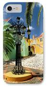 Curacao Colorful Architecture IPhone Case by Amy Cicconi