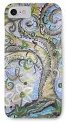 Curly Tree In Fantasy Land IPhone Case