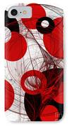 Cyclone Circle Abstract IPhone Case
