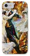 Dance Ball Of Cats  IPhone Case by Leonid Afremov