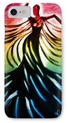 Dancer 3 IPhone Case by Anita Lewis
